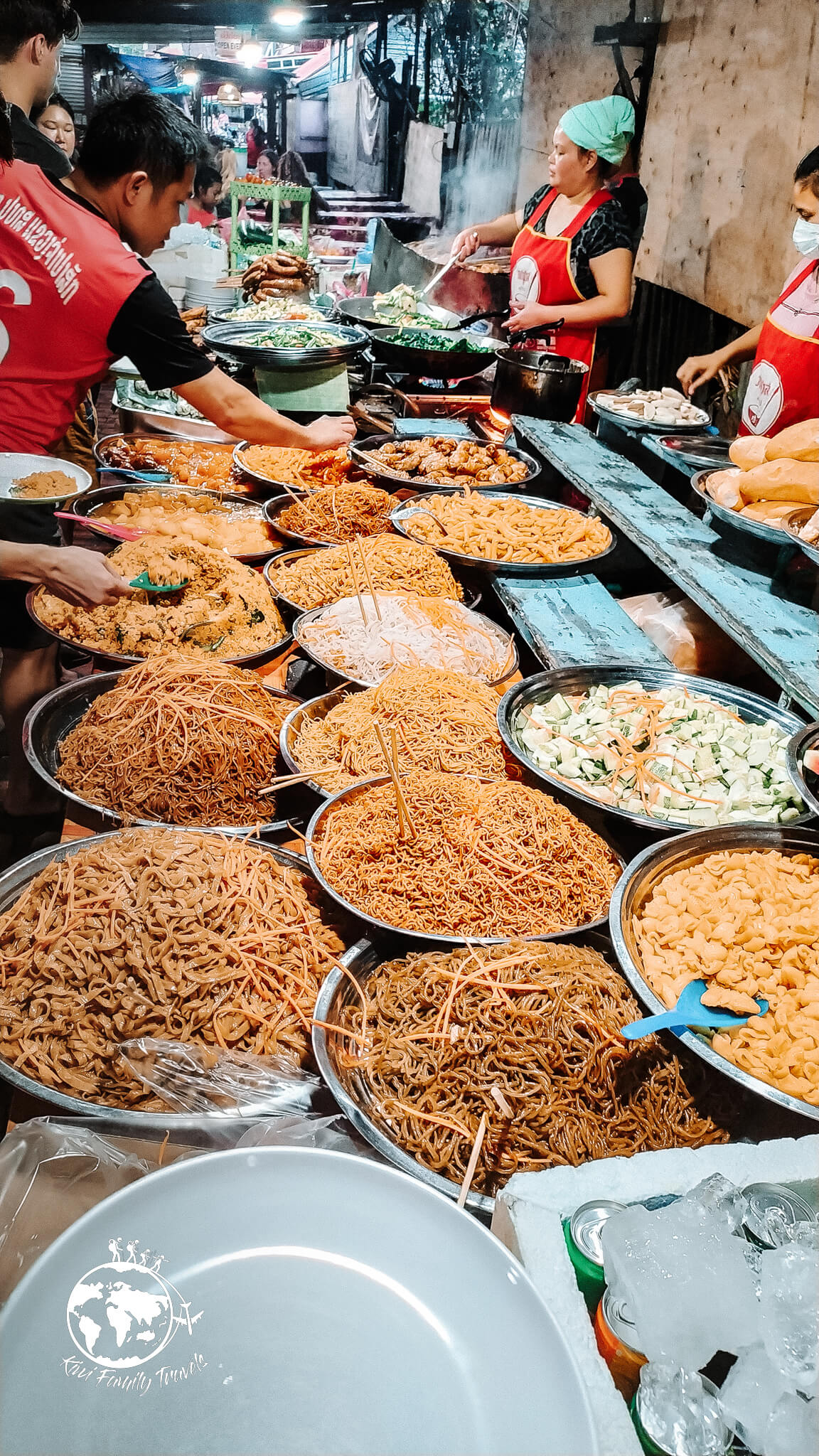 Night Market stand de nouille