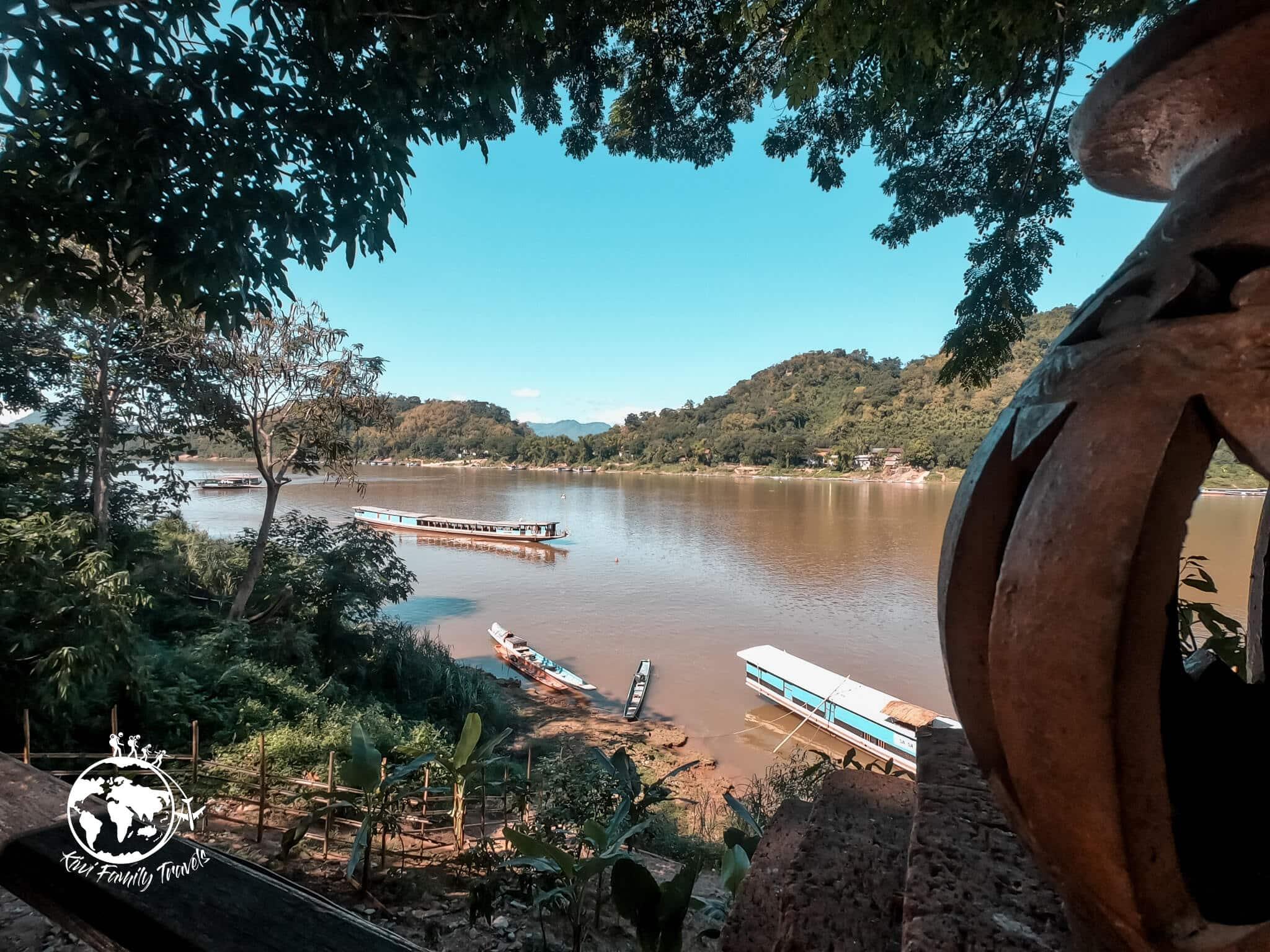Vue sur le Mekong depuis la ville