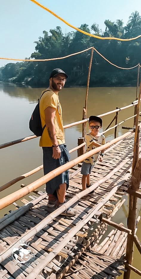 Logan et Vince sur le pont