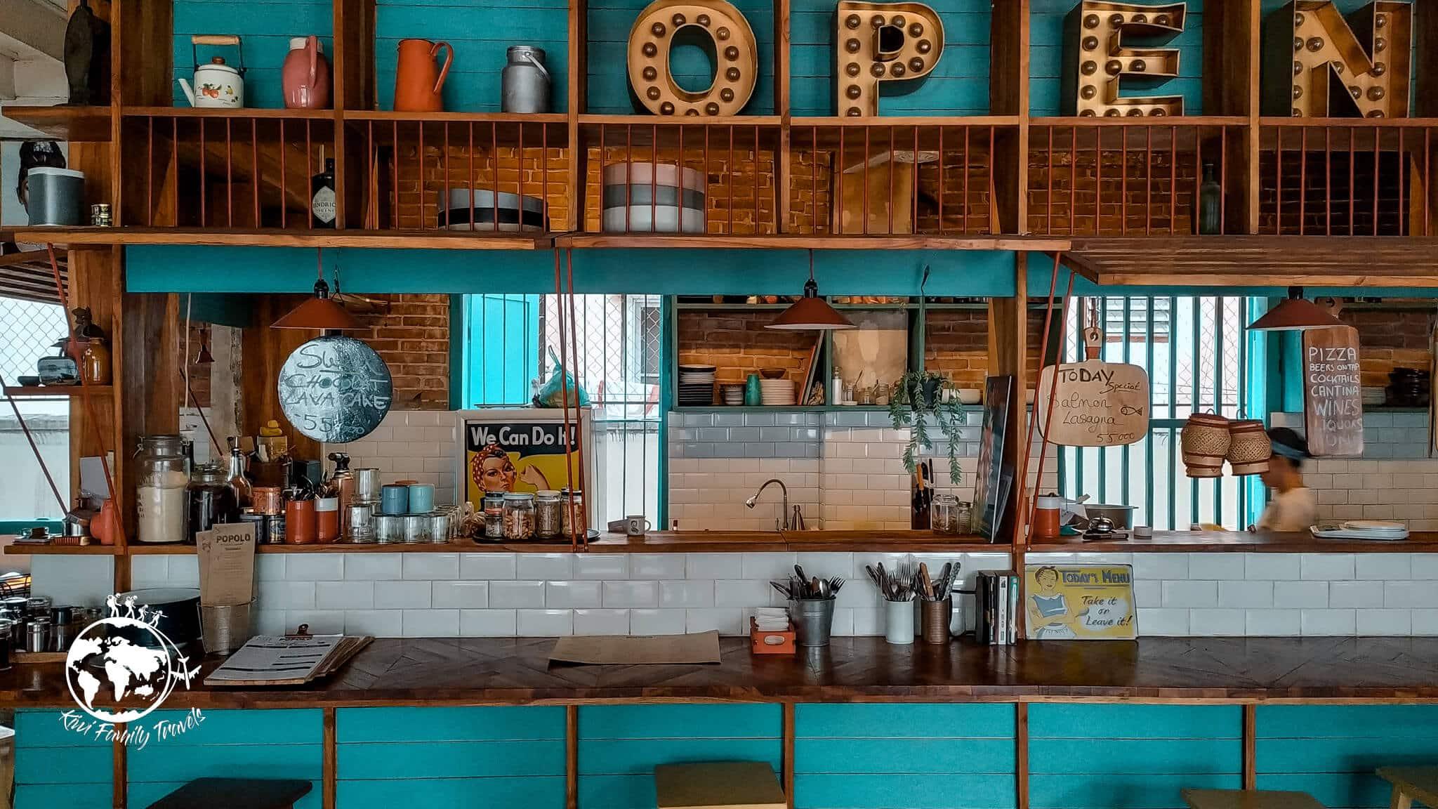 Restaurant Popolo de l'intérieur