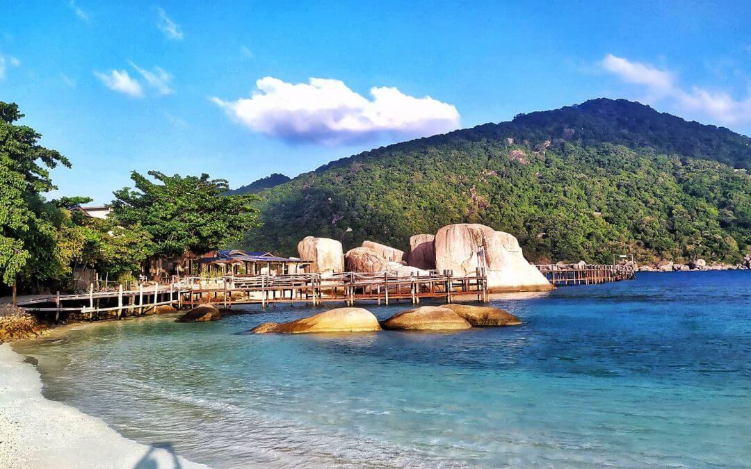 L'île de Koh Nang Yuan